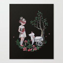The Easter Lamb Canvas Print