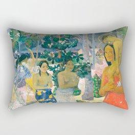 Paul Gauguin - Hail Mary (Ia Orana Maria) Rectangular Pillow