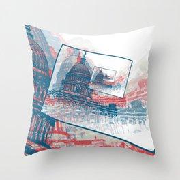 Congress Capitol Building Throw Pillow