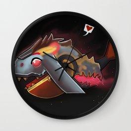 Mecha Whale Strider Wall Clock