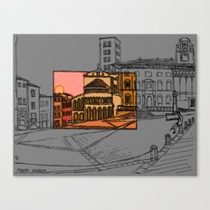 Piazza Grande Canvas Print