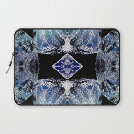 Turquoise Mandala-Throat Chakra Laptop Sleeve