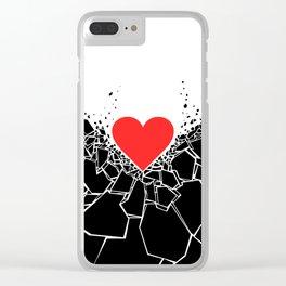 Heartbreaker II Clear iPhone Case