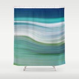 OCEAN ABSTRACT Shower Curtain