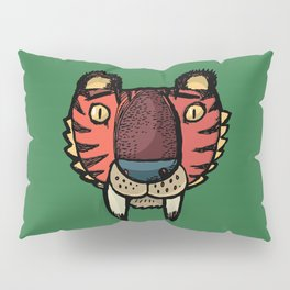 Sabre-toothed tiger Pillow Sham