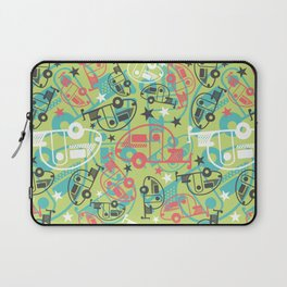 Retro Green T@b Trailers Laptop Sleeve