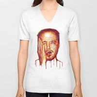 jesse pinkman V-neck T-shirts featuring Jesse Pinkman by beart24