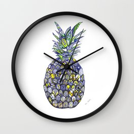 The pineapple Wall Clock