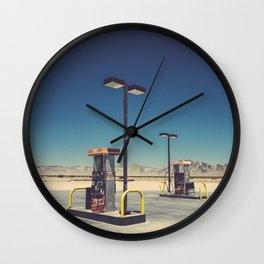Gass pumps Wall Clock