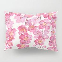 Weeping Cherry Blossom Pillow Sham