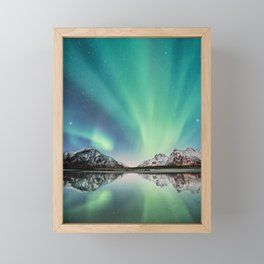 Stars Come Out At Night Framed Mini Art Print