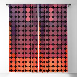Warm waterfall Blackout Curtain