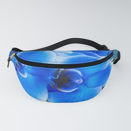 Blue Orchids Fanny Pack
