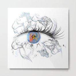 smokey eye 2.0 Metal Print