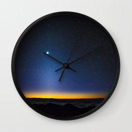 Stars in Hawaii Wall Clock