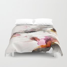 Day 23: Senses may override the mind, but a steady mind can abrogate the senses. Duvet Cover