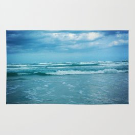 South Padre Island, TX - Stormy Weather Rug