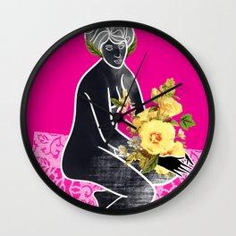 Goddess Pink Wall Clock
