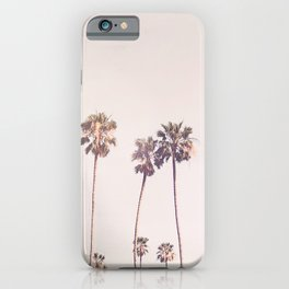 Sunny Cali Palm Trees iPhone Case