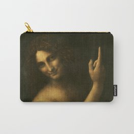 Leonardo da Vinci - Saint John the Baptist Carry-All Pouch
