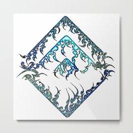 Blue Diamond (1) Metal Print