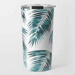 Maui Palm Leaf 2 green Travel Mug