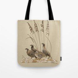 Chukar Partridges Tote Bag