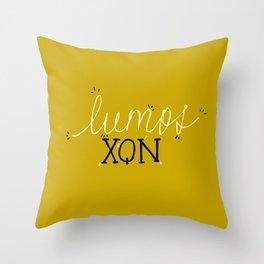 Lumos/Nox Throw Pillow