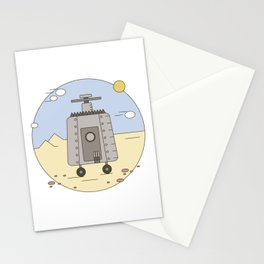 Pepelats. Russian science fiction. Stationery Cards