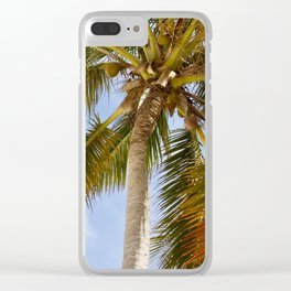 Palm Tree in Cuba Clear iPhone Case
