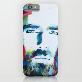 Colorful Creator Jesus Christ Painting iPhone Case