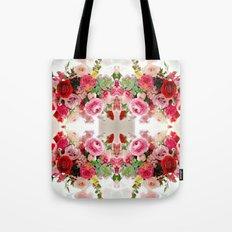 Romantic Flower Arrangement Tote Bag