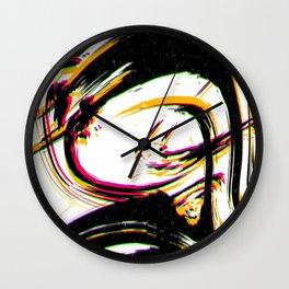 Compound Mask Wall Clock