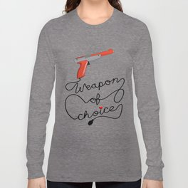 Weapon of Choice (2014 Revamped Version) Long Sleeve T-shirt