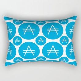 Aricoin - Amazing Crypto Fashion Art (Large) Rectangular Pillow