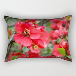 JAPANESE QUINCE Rectangular Pillow