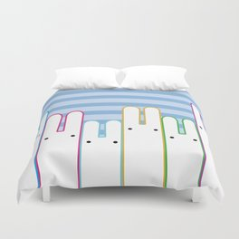 Bunny Buddies Duvet Cover