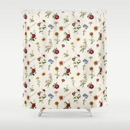 Vertical Garden (White) Shower Curtain