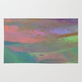 Inside the Rainbow 10 / Unexpected colors Rug