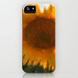 love yellow iPhone Case