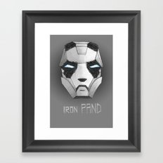 ironPAND Framed Art Print
