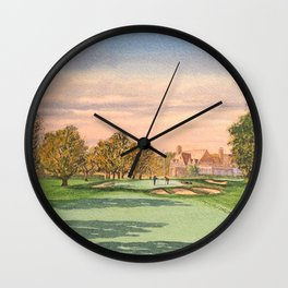 Winged Foot West Golf Course NY Wall Clock