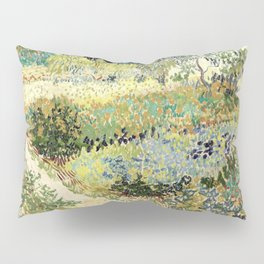 Vincent Van Gogh : Garden at Arles Pillow Sham