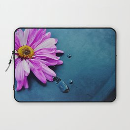 pink Flower From New York  Laptop Sleeve