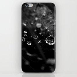 Black Drops iPhone Skin