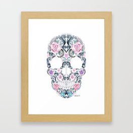 Colorskull Framed Art Print