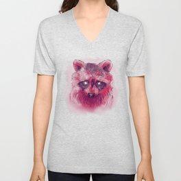 Raccoon I Unisex V-Neck