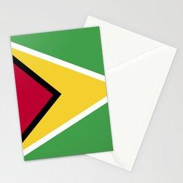 Guinea Bissau flag emblem Stationery Cards