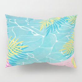 Tropical pool chill Pillow Sham