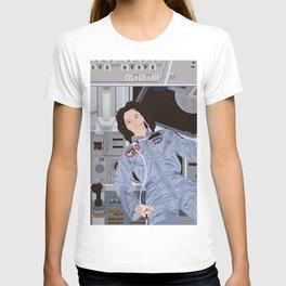 Sally Ride, first American woman in space T-shirt